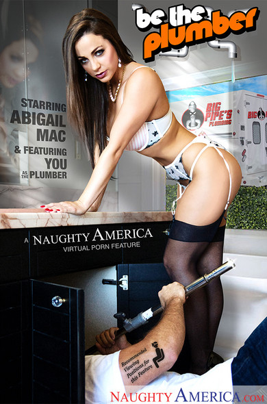 "Abigail Mac, Chad White In Naughty Rich Girls – ""Be the Plumber!"""