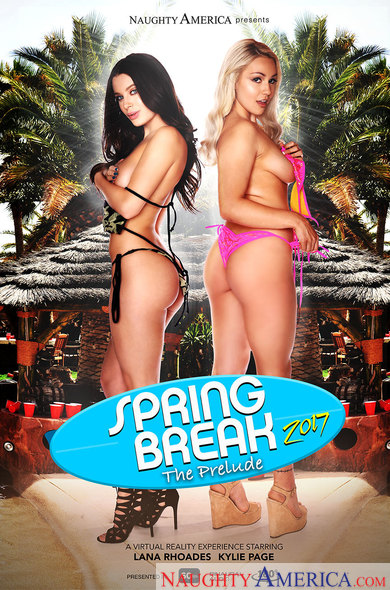 "Lana Rhoades and Kylie Page in ""Spring Break 2017 – The Prelude"""